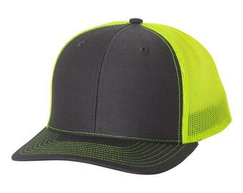 257cbe94e6f3f Richardson 112 trucker cap hat blank for decorating embroidery
