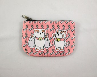 Bee and PuppyCat Coin Purse