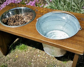 Large Dog Feeder, Raised Dog Bowls, Pet Feeder, Pets & Animals, Mothers Day