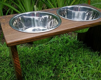 Elevated Dog Feeder, Raised Dog Bowl, Pets Supplies