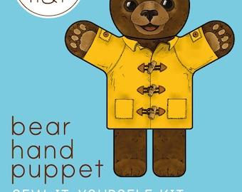 Bear Hand Puppet Kit