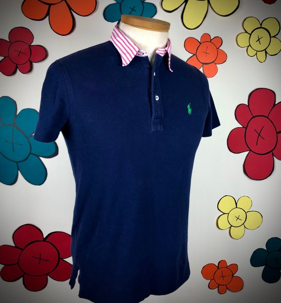 Vintage 80s / 90s Ralph Lauren Polo Shirt / VTG R… - image 5