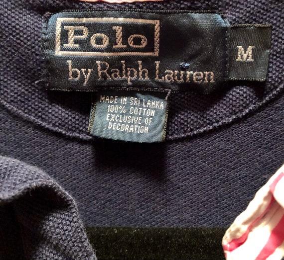 Vintage 80s / 90s Ralph Lauren Polo Shirt / VTG R… - image 10