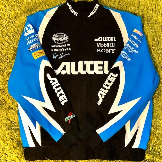 NASCAR Race Coat / Vtg NASCAR Racing Jacket Ryan N