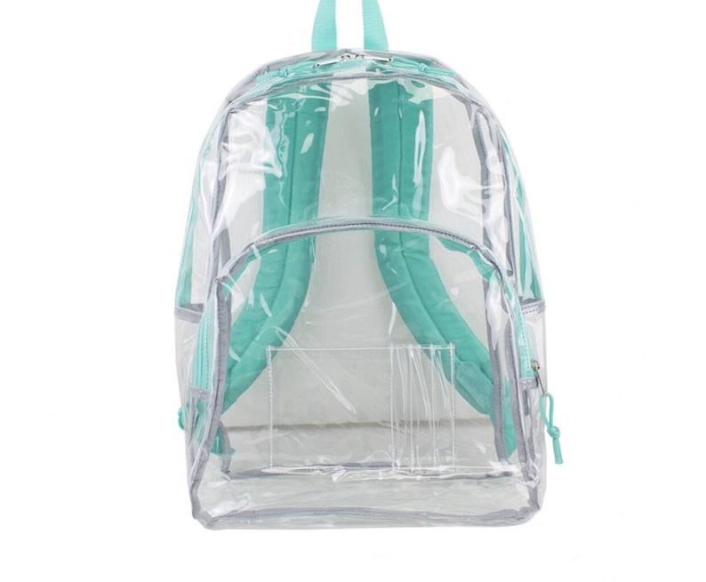 Personalized Clear Backpacks pick your design