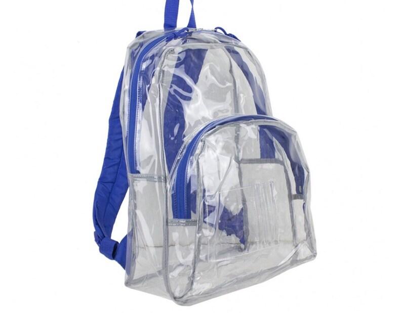 trolls backpack trolls bookbag Clear backpack pick your design clear bookbag poppy