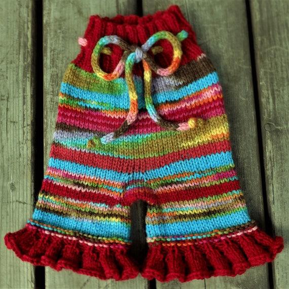 6c1285508 Handknit Wool Shorts Wool Soaker Wool Diaper Cover Cloth