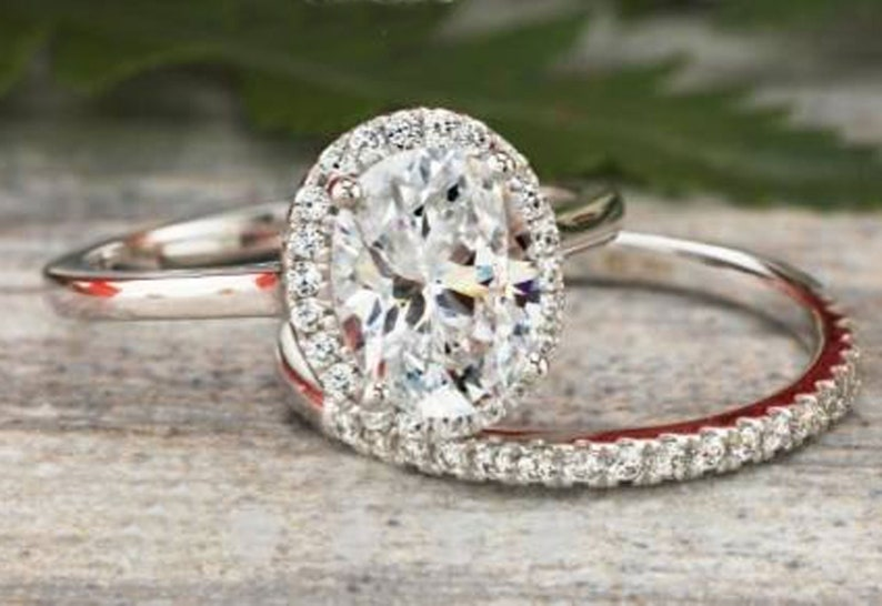 Bright 1.10 Ct Real Round Diamond Engagement Ring Solid 14k White Gold Ring Size J N Jewelry & Watches