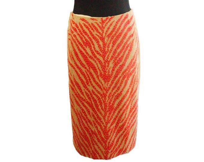 ab0c6948d4e8d Carolina Herrera Vintage Beaded Skirt