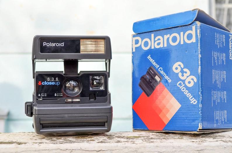 Vintage Polaroid Close Up 636 Camera Christmas gift for him image 0