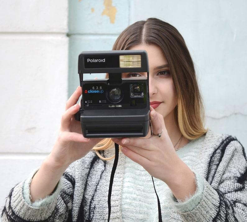 Polaroid Camera Polaroid Close Up 636Vintage CameraRetro image 0