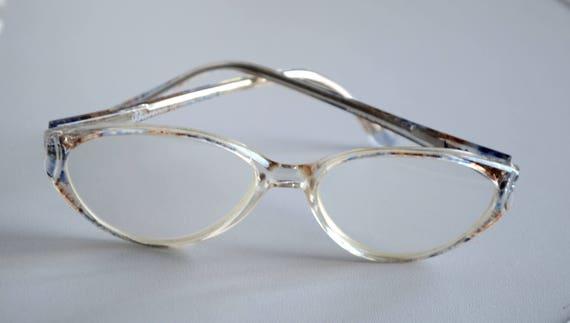 bbc255f0cb27 Oval eyeglasses cat eye glasses cat eye frames vintage