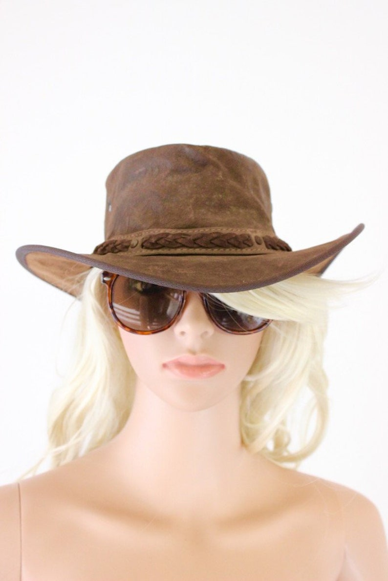 68d2ad972af70 Barmah Hats Australian made Kangaroo leather cowboy western