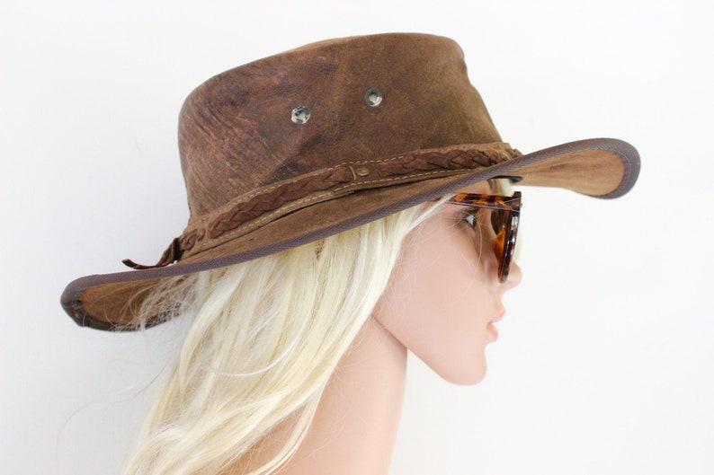 e32f9c6719a Barmah Hats Australian made Kangaroo leather cowboy western