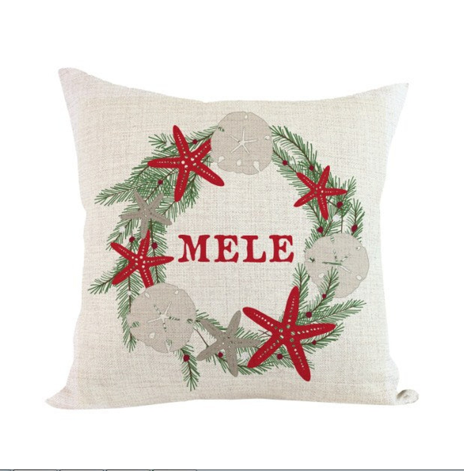 This Christmas pillow is one of the best Hawaii gifts
