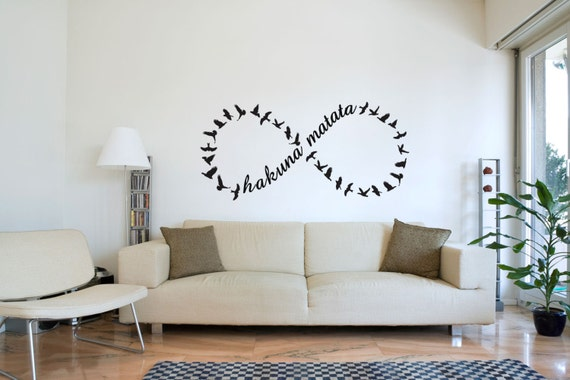 Items similar to Hakuna Matata – no worries, ever! Wall ...