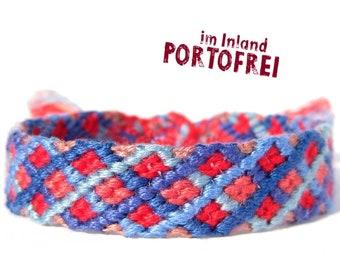 Friendship bracelet, embroidery floss bracelet