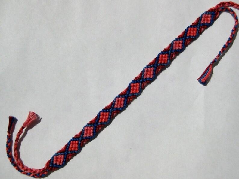 embroidery floss bracelet Friendship bracelet bracelet