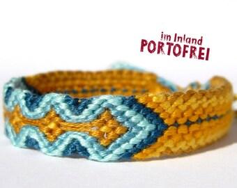 Friendship bracelet, Bracelet, Embroidery Floss Bracelet