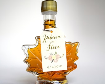 87689658a45 Maple Syrup Wedding Favors--Rustic Wedding Favors--Custom
