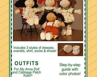 d8eccb597d7507 Outfits Pattern for My Anna Doll and 16