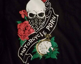 Skull with Roses shirt