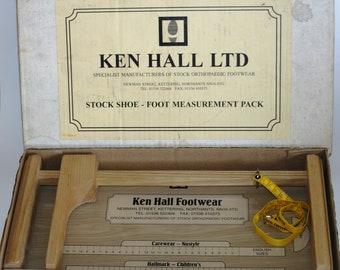 Vintage Ken Hall Foot Measuring Gauge