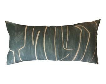 Kelly Wearstler Graffito Lumbar Pillow Cover