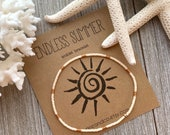 Dainty Rose Gold Cream Anklet Bracelet, Minimalist and Dainty Anklet Bracelet, Beaded Stretch Anklet Bracelet, Crystals Ankle Bracelet