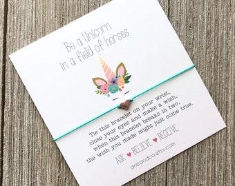 Best Friend Bracelet Friendship Bracelet Party Favor Flower Wish Bracelet Arie /& Co Friend Gift