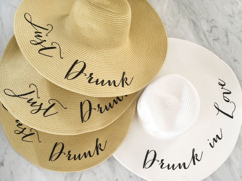 d37cc9622b8 Bachelorette Beach Hats Drunk In Love Hat Just Drunk Hat