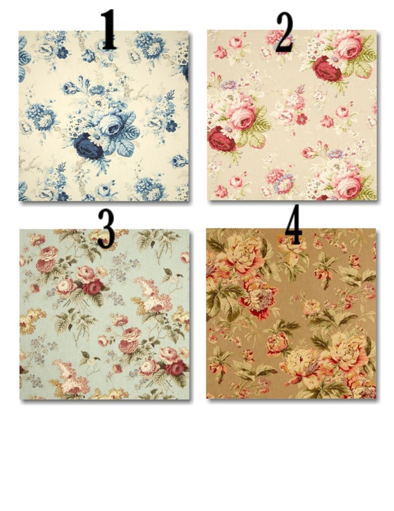 Kitchen Dining Room Chair Cushions With Ties Floral Set Of 4