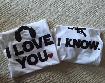 I love you I know - Star Wars