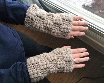 Puffy mitts - crochet pattern