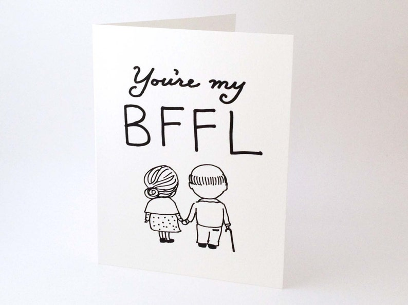 Witty Love Card Best Friend Funny Romantic