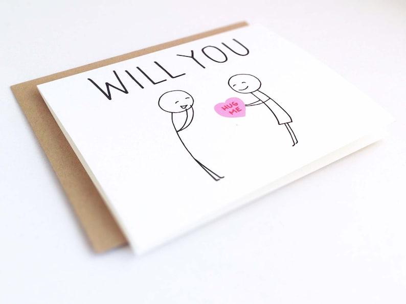 ANNIVERSARY CARD My Favorite Human Love Card Valentines