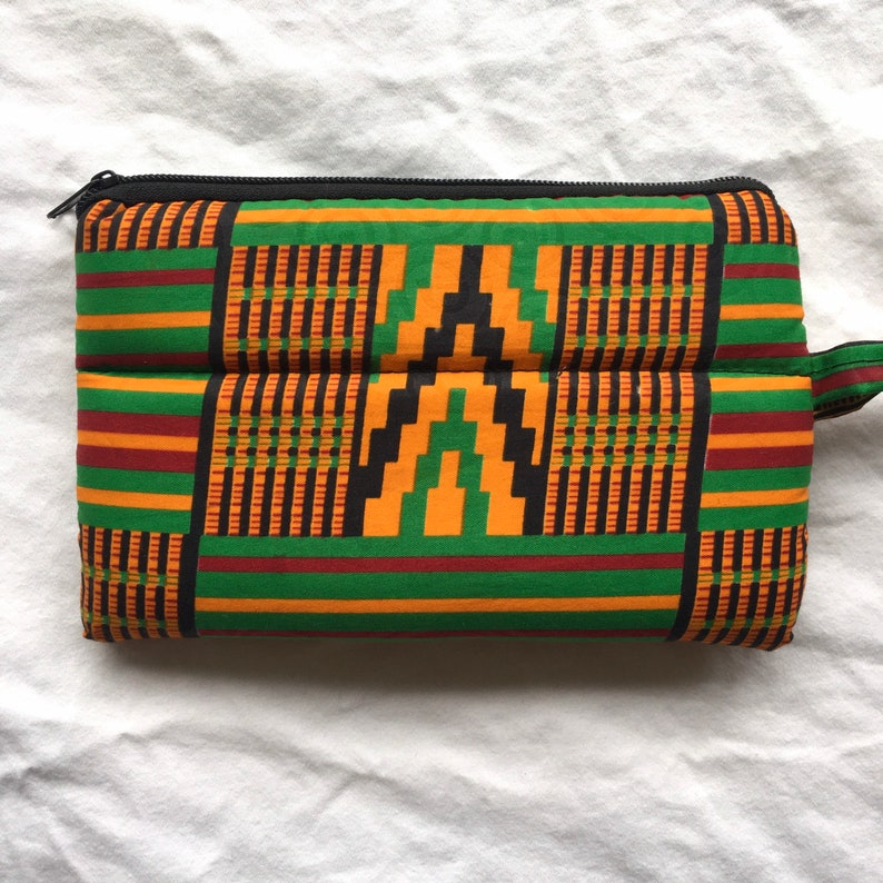 Small Purse with Wrist Strap from Sierra Leone image 0