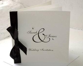 Diamante Wedding Invitation