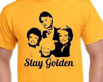 Golden Girls T-Shirt - Stay Golden T-Shirt - TV Show T-Shirt