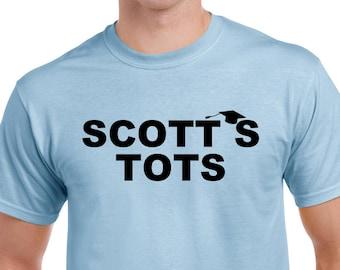 Scotts Tots Shirt - The Office Shirt - Scotts Tots T-Shirt - Michael Scott Shirt - Office TV Show Shirt