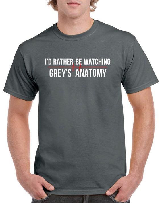 Greys Anatomy T Shirt Greys Anatomy Fan Tv Show Greys Etsy