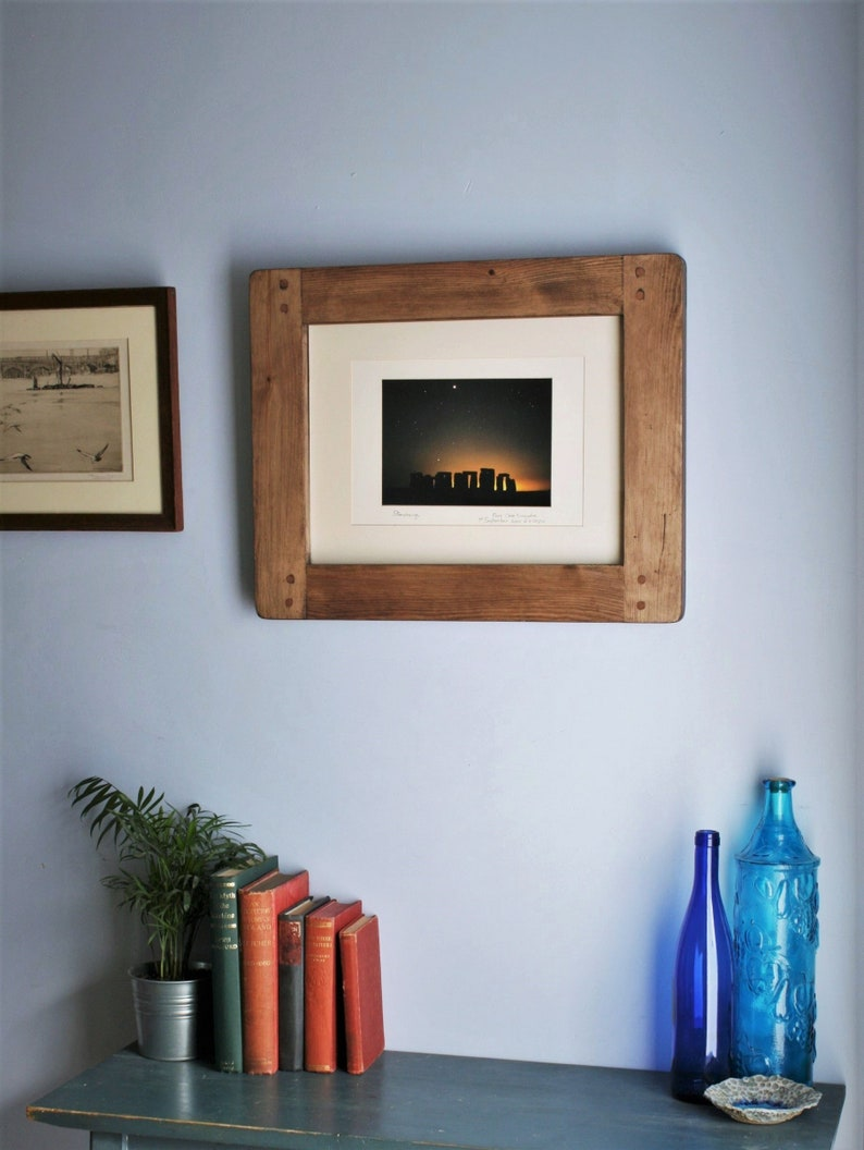 wooden frame for photo & picture 12 x 16 inch sustainable image 0