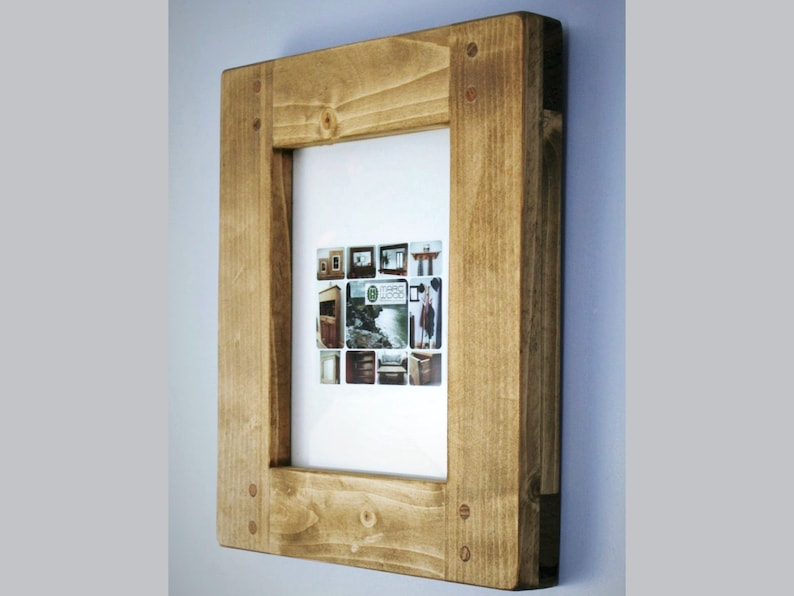 wooden picture & photo frame 10 X 8 high quality crafted image 0