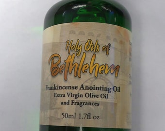 Holy Anointing Oils of Bethlehem - Frankincense 50ml / 1.7 fl oz