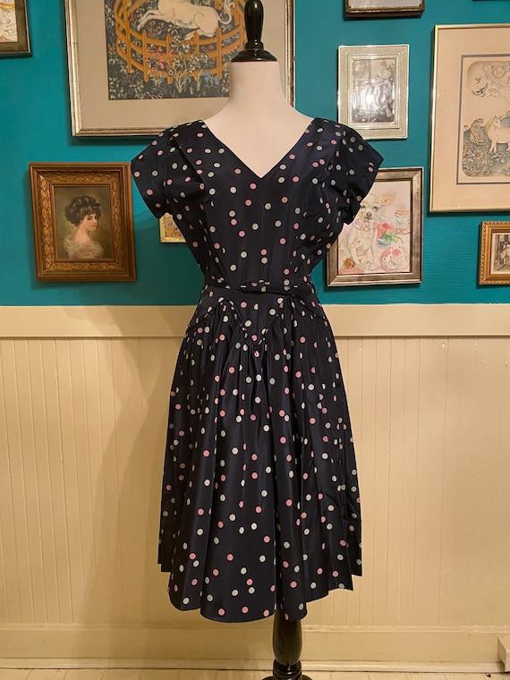 1940s / 1950s Polka Dot Dress