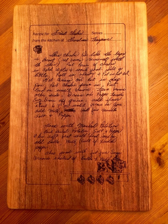 typed recipe cutting board - 570×760