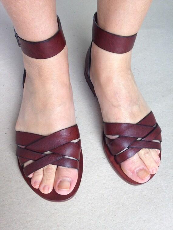 a90587099baff7 RHEME  Woven Leather Handmade leather sandals. custom