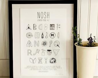 NOSH Jewish Food: A-Z Print