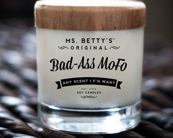 Ms. Betty's Original Bad-Ass MoFo Scented Soy Candle