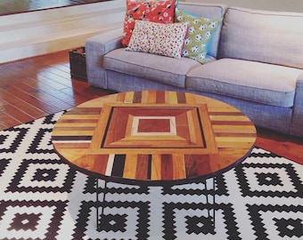Round Coffee Table, Four Feet in diameter
